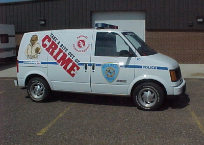 1992 Chevy Van - Crime Prevention