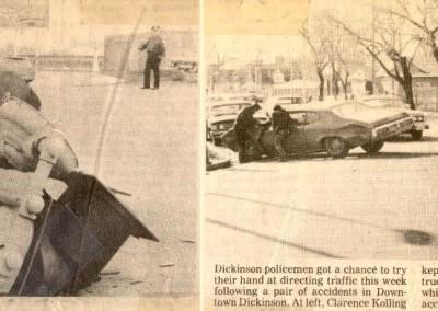 Directing traffic 4/25/75